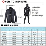 Men's stand-collar wool blend jacket windproof sailor jacket