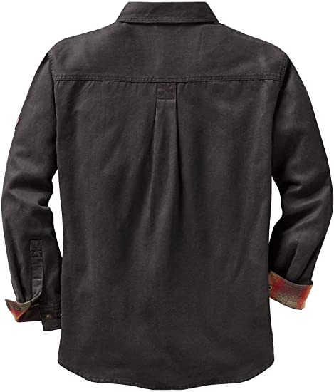 Men's rugged shirt jacket