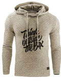 Print Regular Letter Casual Hooded Hoodies