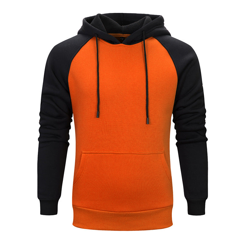 Men's sweater European Pullover Hooded Sweater