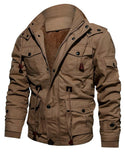 Men's Hooded Washed Jacket