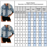 Jackets Vintage Womens Hole Destroyed Short Denim Coat Autumn 2019 Girls Cropped Coats and Jackets Women chaqueta mujer D25