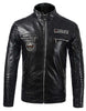 Men's pu jacket motorcycle clothing