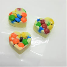 Load image into Gallery viewer, Chocolate Rainbow Bits Bonbons (3pc)