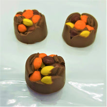 Load image into Gallery viewer, Chocolate Peanut Butter Bittles Bonbons (3pc)