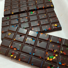 Load image into Gallery viewer, Rainbow Bits Chocolate Bar (24pc)