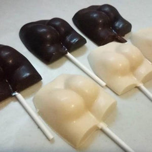 Chocolate Booty Lollipop (1pc)