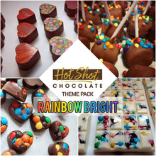 Load image into Gallery viewer, Chocolate Theme Pack: Rainbow Bright