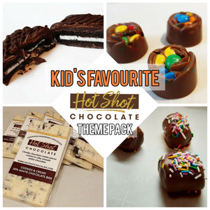 Chocolate Theme Pack: Kid's Favorite