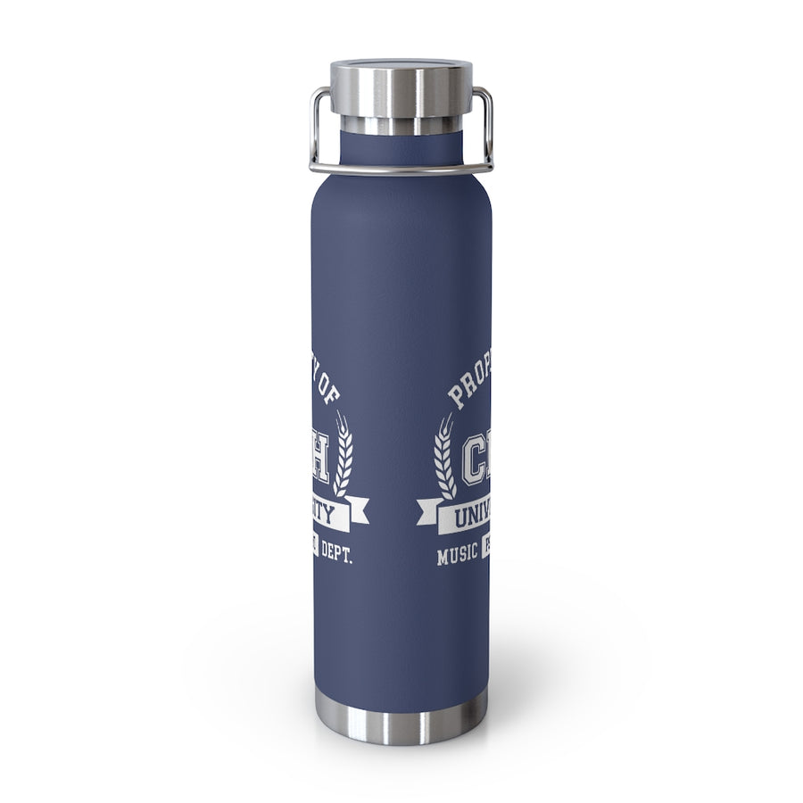 CHHU PROPERTY OF 22oz Vacuum Insulated Bottle (white logo)