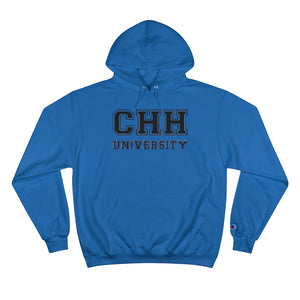 CHH UNIVERSITY Champion Pullover Hoodie (Black Logo)