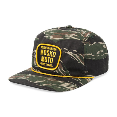 Mosko Moto Apparel Camo Trail Captain Hat