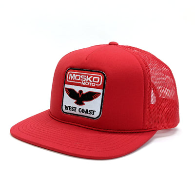 Mosko Moto Apparel West Coast Trucker