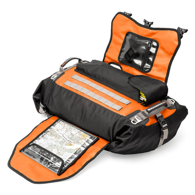 Mosko Moto Duffle Backcountry 30L Duffle/Pack (V2.0) - Limited Edition Orange