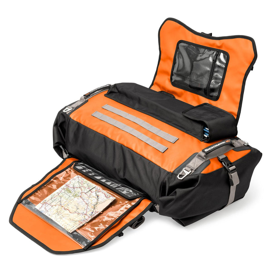 Mosko Moto Duffle Backcountry 40L Duffle/Pack (V2.0) - Limited Edition Orange