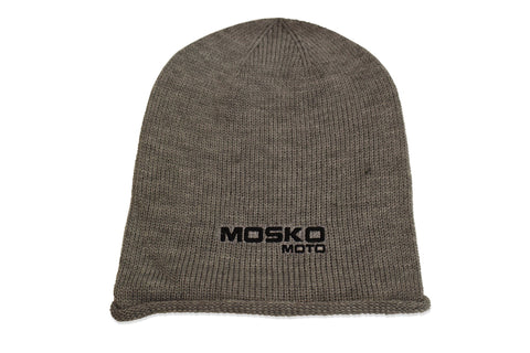 Mosko Embroidered Sportsman Oversized Acrylic Beanie