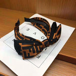 Signature FENDI-KNOT Headband