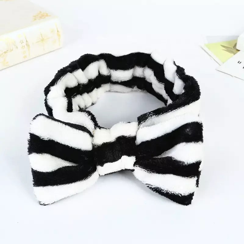 Striped Bowtie Headbands