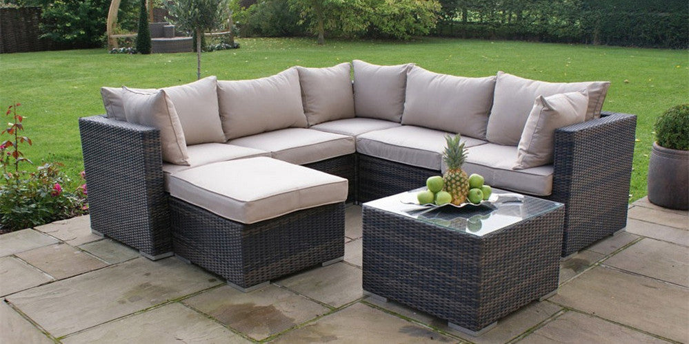 Beautiful stylish and affordable all weather wicker patio for Antigua wicker chaise