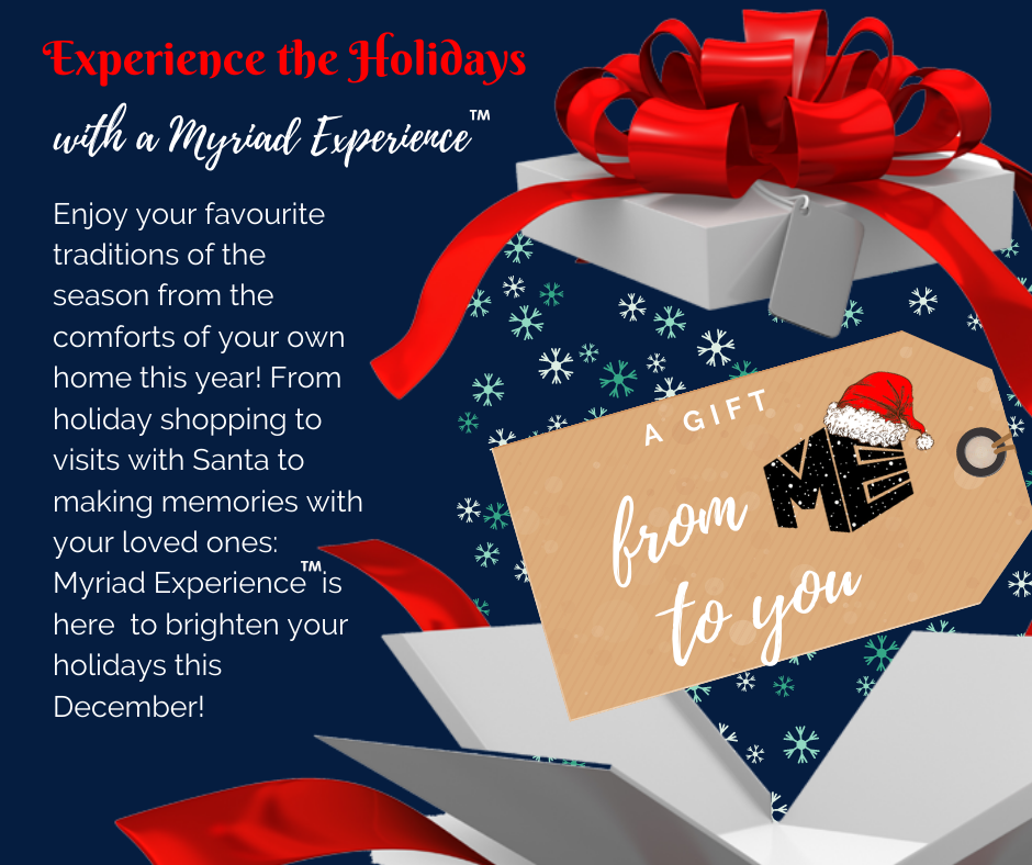 Experience the Holidays: A Gift from ME to You
