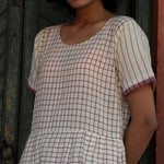Kora grid with pocket tunic
