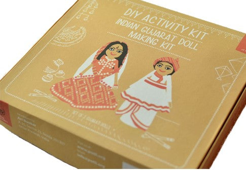 DIY Doll making kit-Gujarat - @ShopChaupal