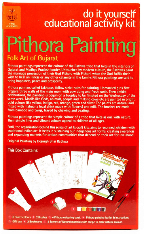 DIY Pithora painting-Gujarat - @ShopChaupal
