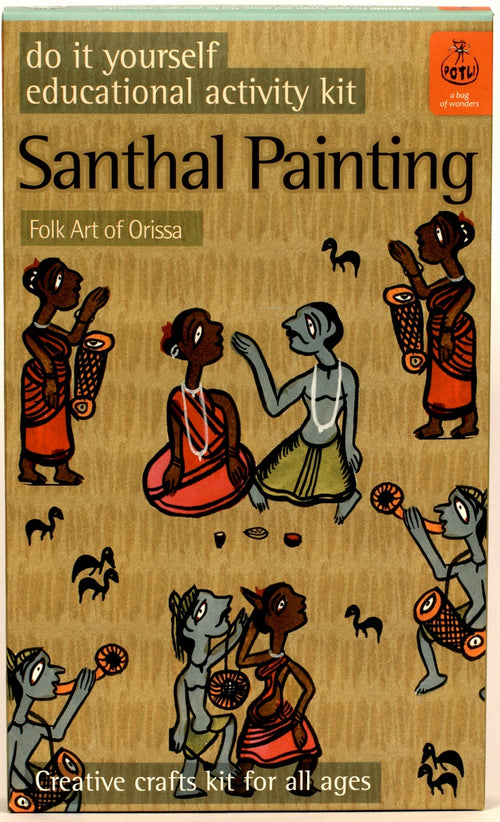 DIY Colouring Kit - Santhal-Odissa - @ShopChaupal