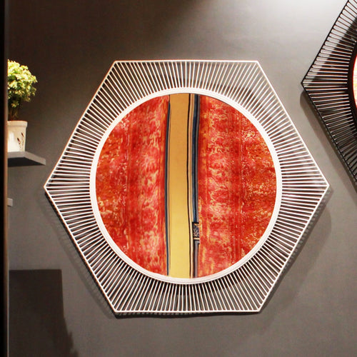 Handcrafted 'Mystic Wall Mirror' - @ShopChaupal