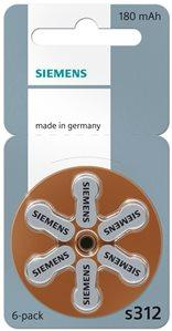 Siemens Hearing Aid Batteries Size 312