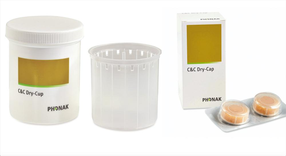 Phonak 'C&C Line' Drying Beaker & Capsules