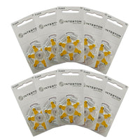 Interton Hearing Aid Batteries Size 10 Pack of 60