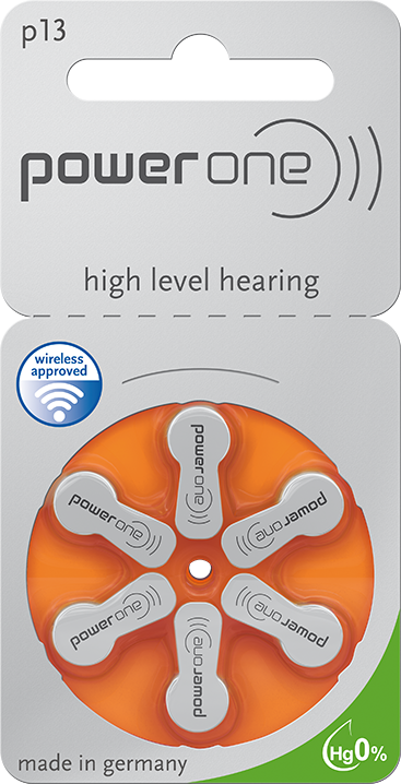 Power One Hearing Aid Batteries Size 13