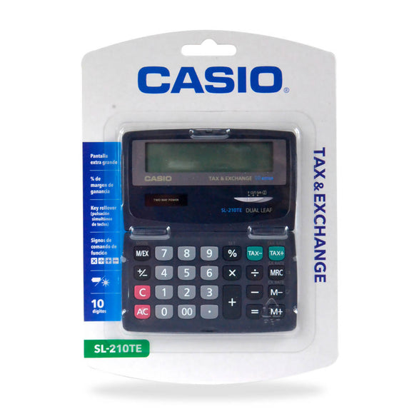 CASIO Calculadora Tax