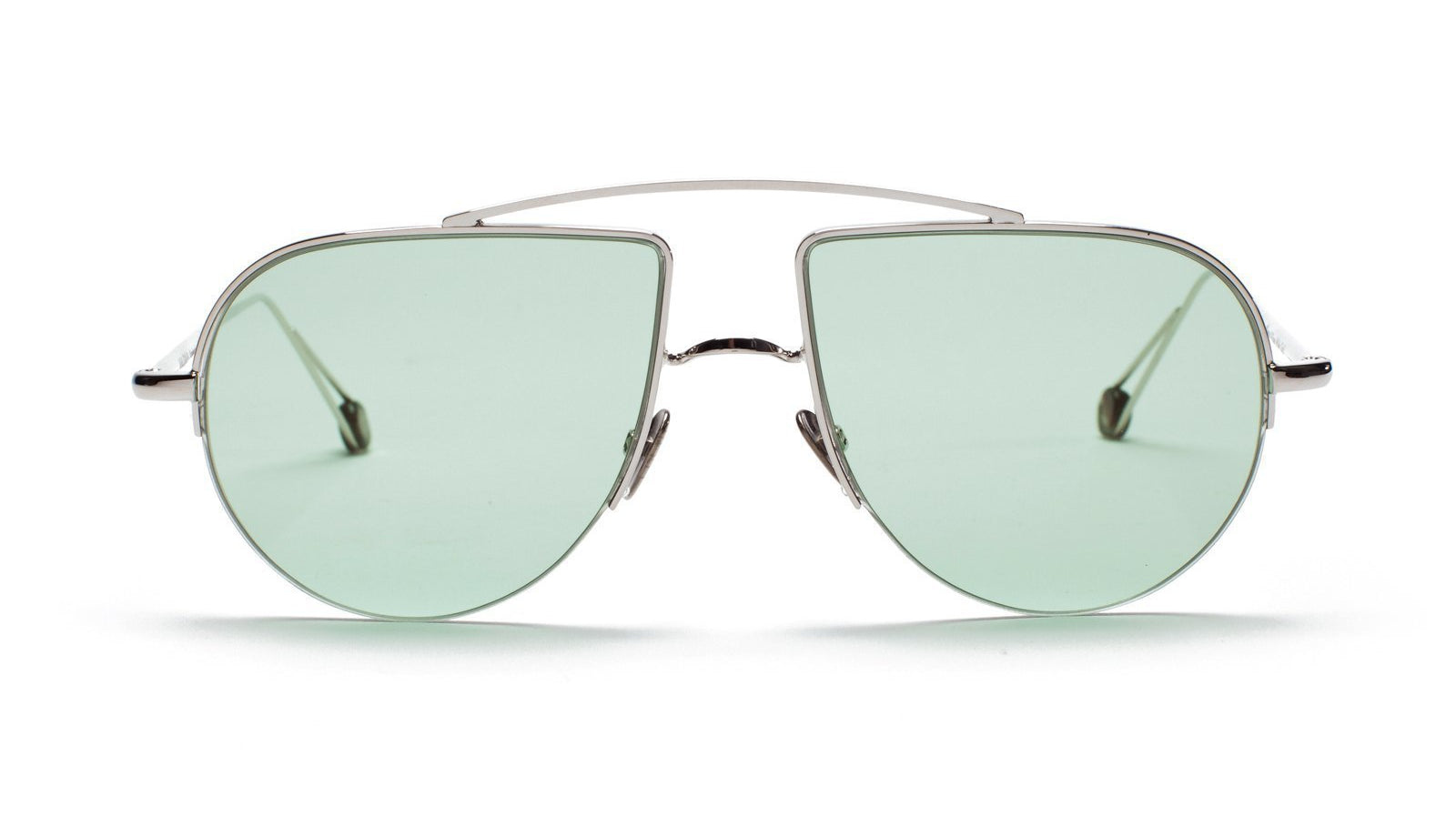 Ahlem Place d'Aligre Sunglasses White Gold