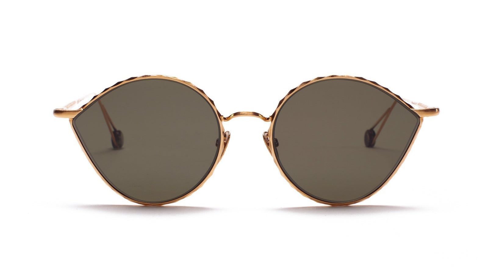 Ahlem Place des Alpes Sunglasses Rose Gold