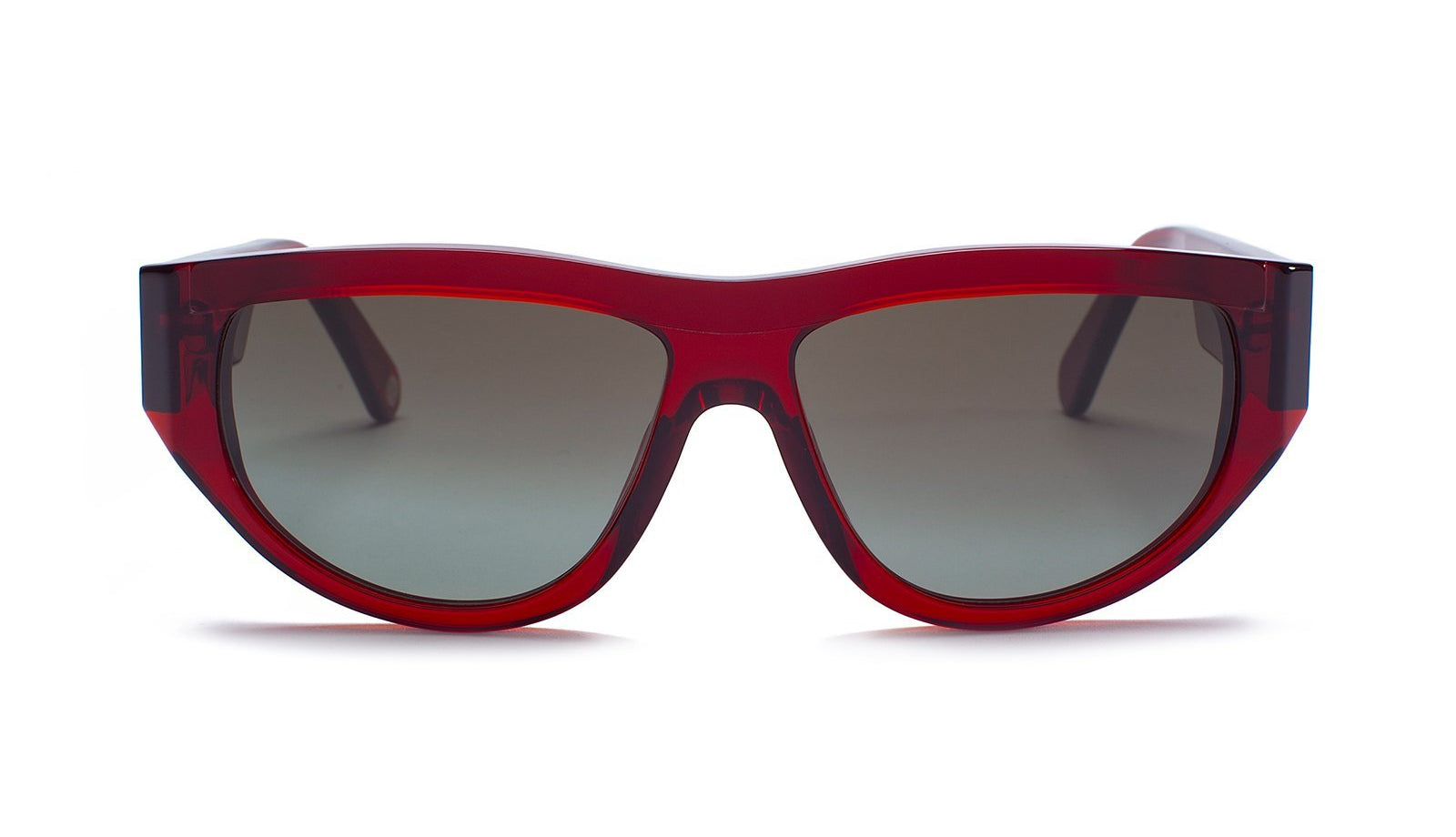 Ahlem Eyewear Bel Air Burgundy Sunglasses