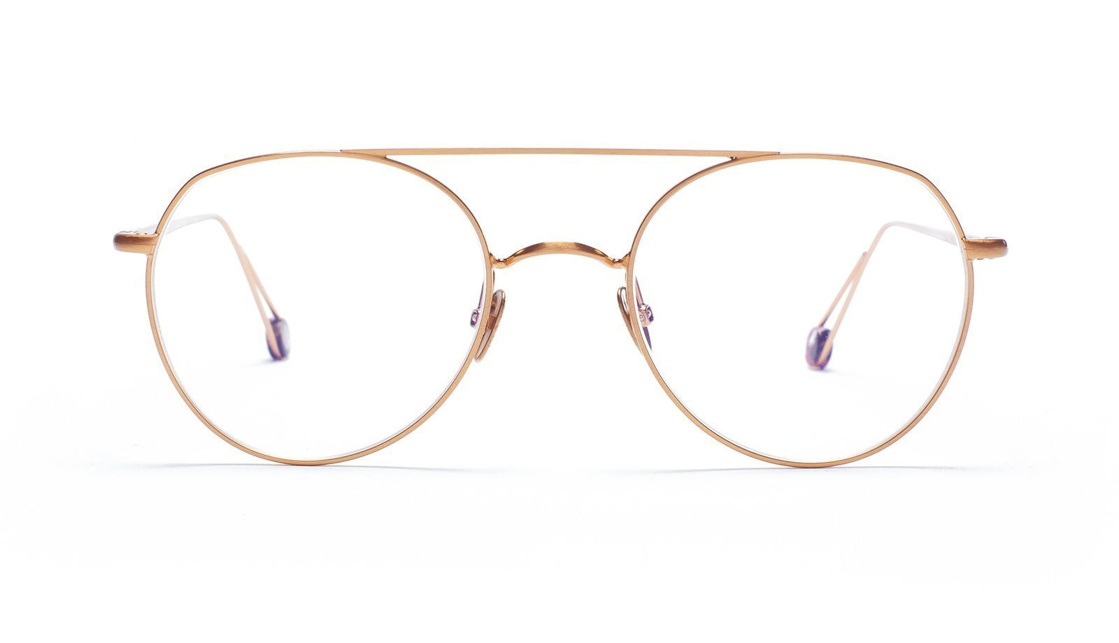Ahlem- Place Du Brésil Sunglasses Rose Gold
