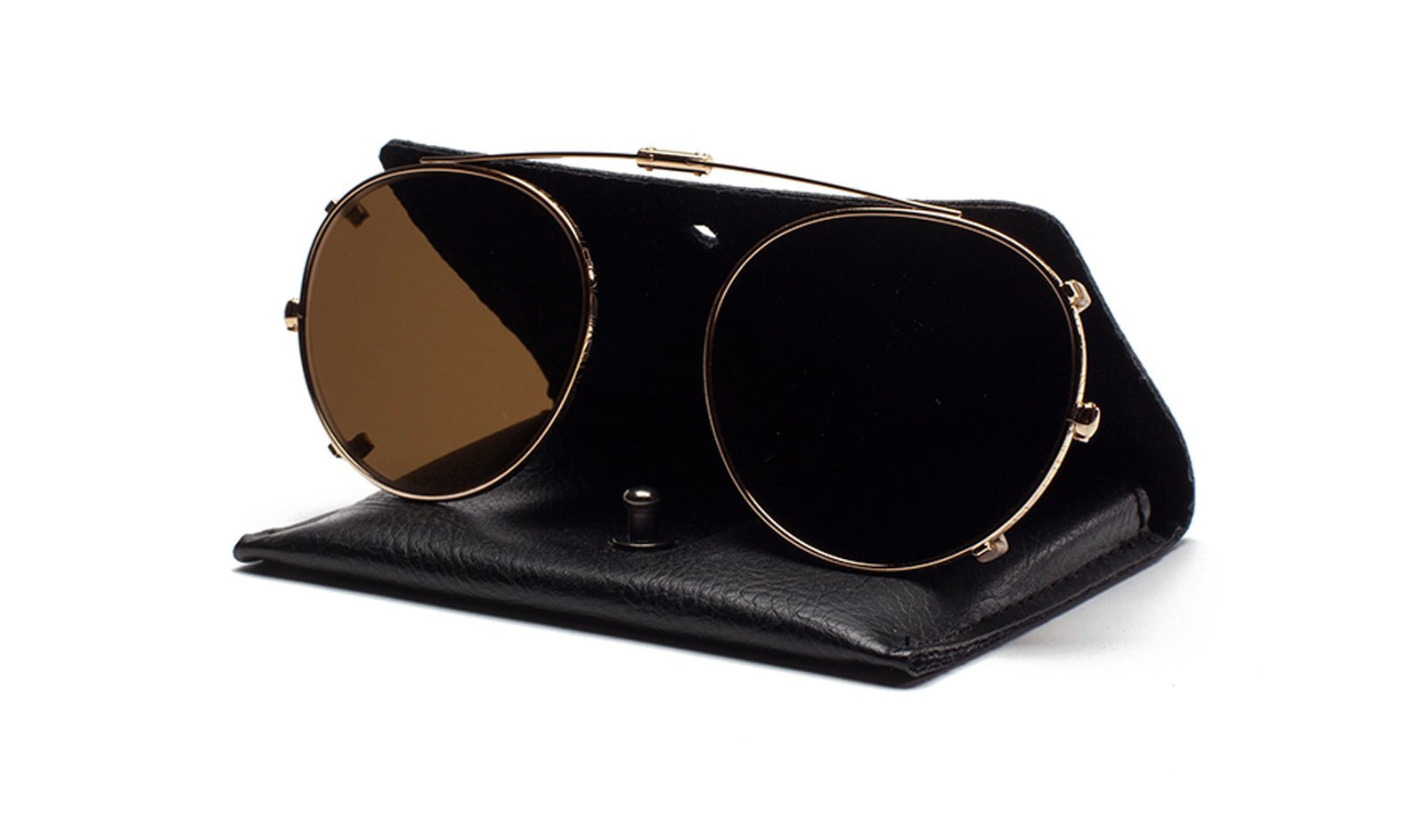 Ahlem - Bastille Champagne Clip Sunglasses