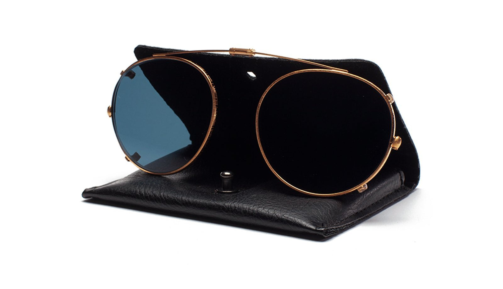 Ahlem - Bastille Rose Gold Clip  Sunglasses