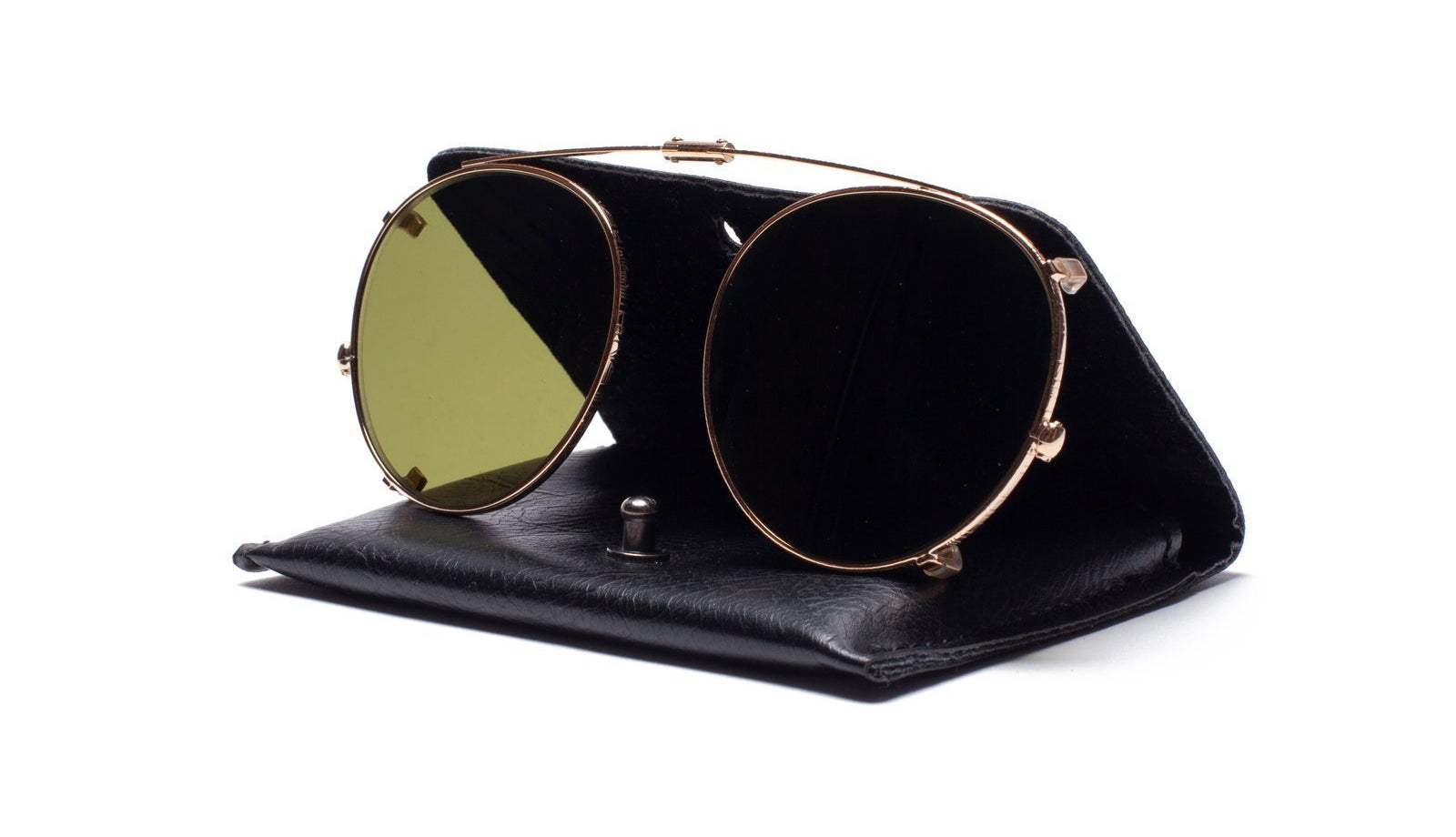 Ahlem Iena Sunglasses Clip Champagne