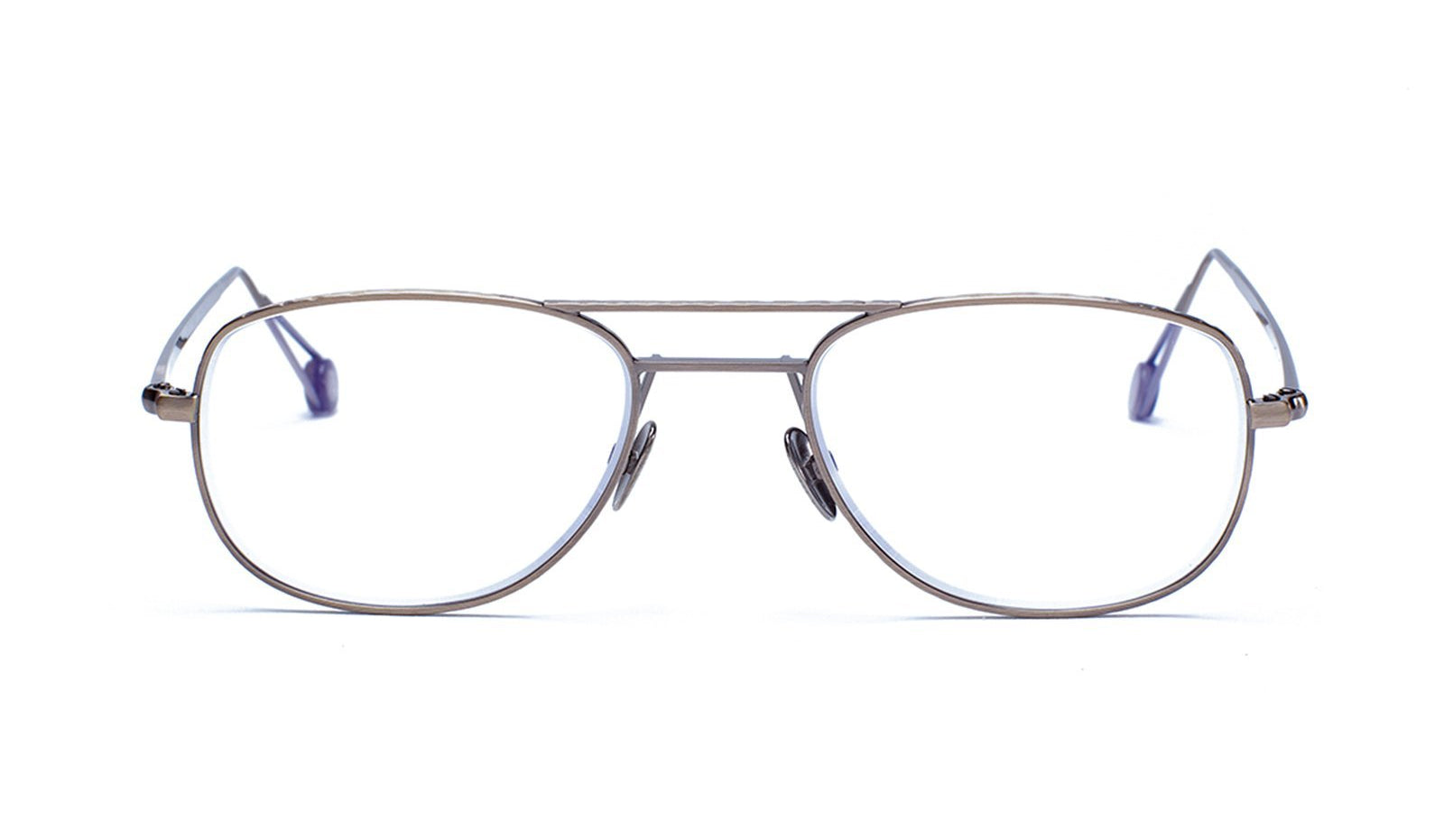 Ahlem Eyewear Dupleix Optical Antique Gold