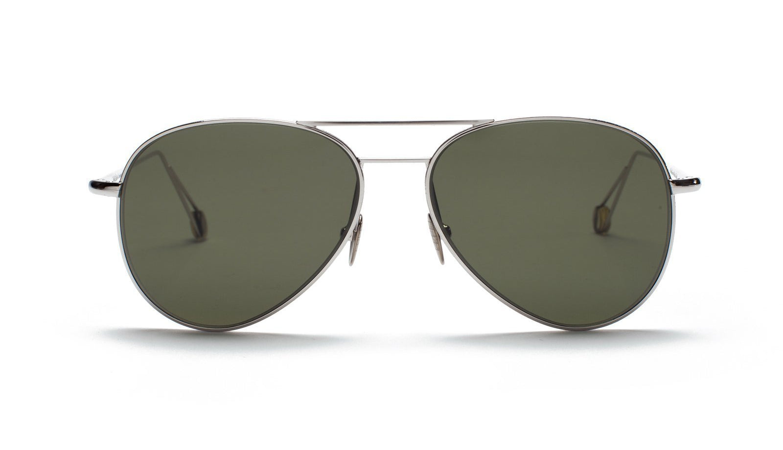 Ahlem Pantheon Sunglasses White Gold