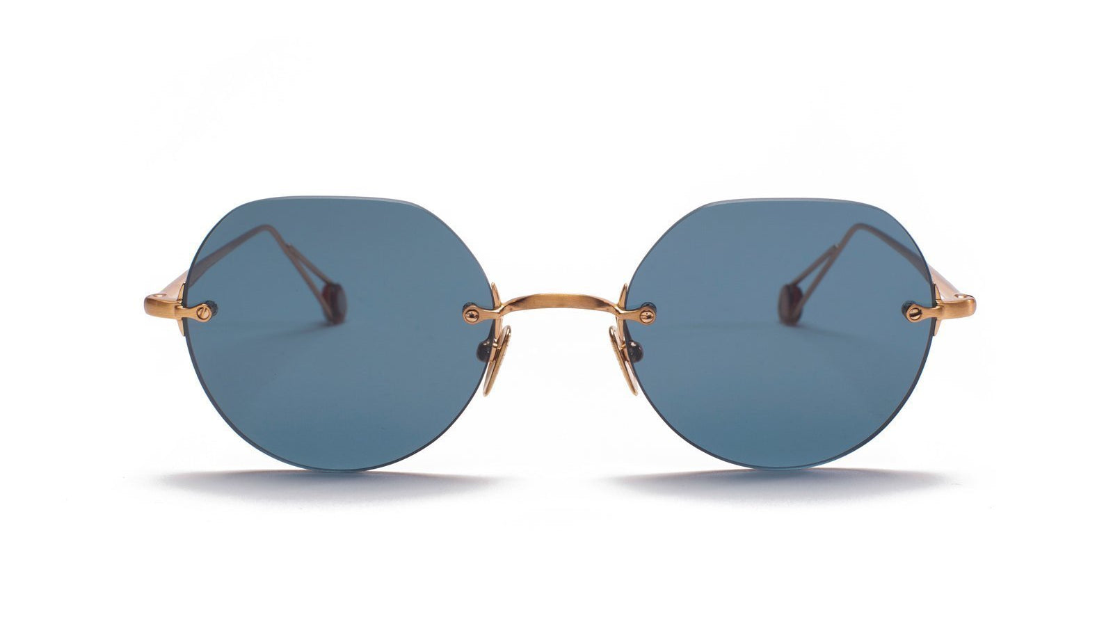 Ahlem Place Rodin Sunglasses Rose Gold