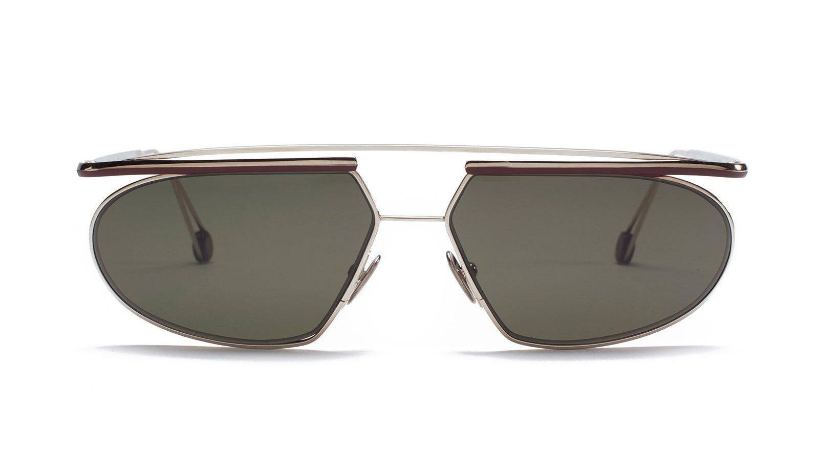 Ahlem Place Tokyo Sunglasses Grey Gold