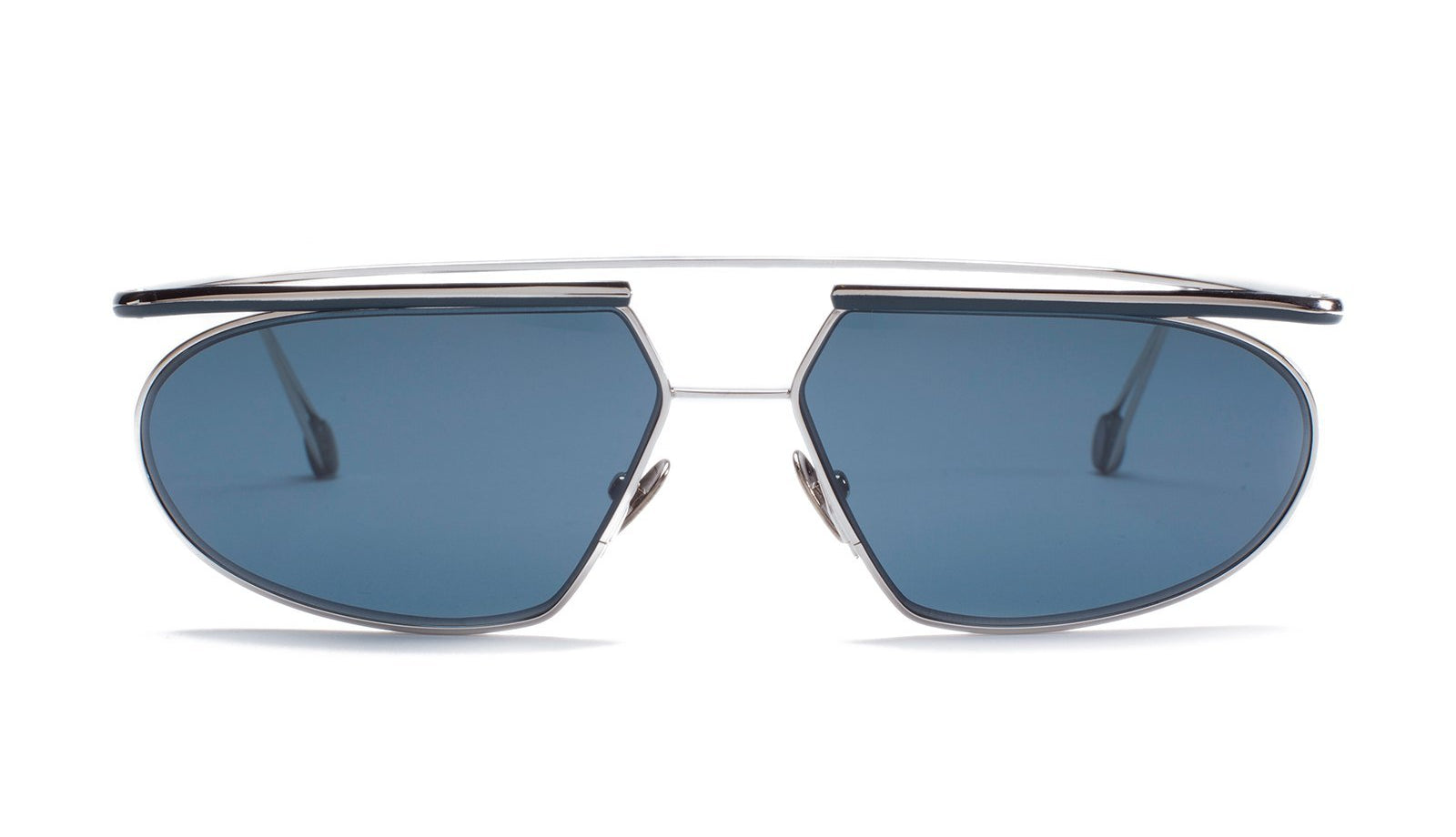 Ahlem Place Tokyo Sunglasses White Gold