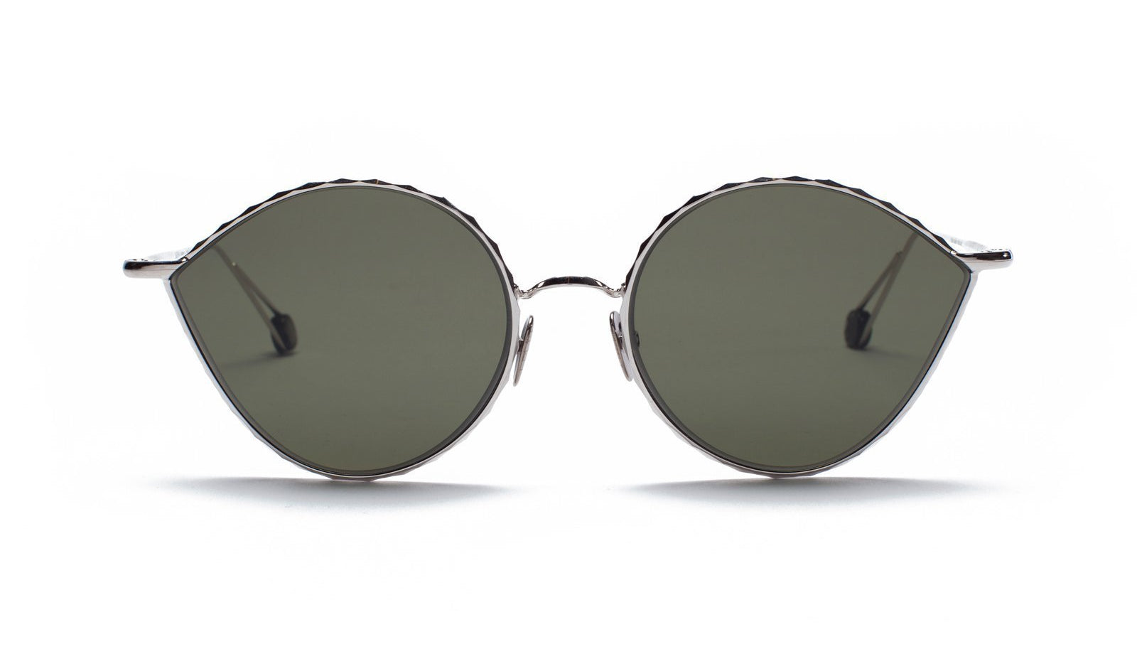 Ahlem Place Vauban Sunglasses White Gold