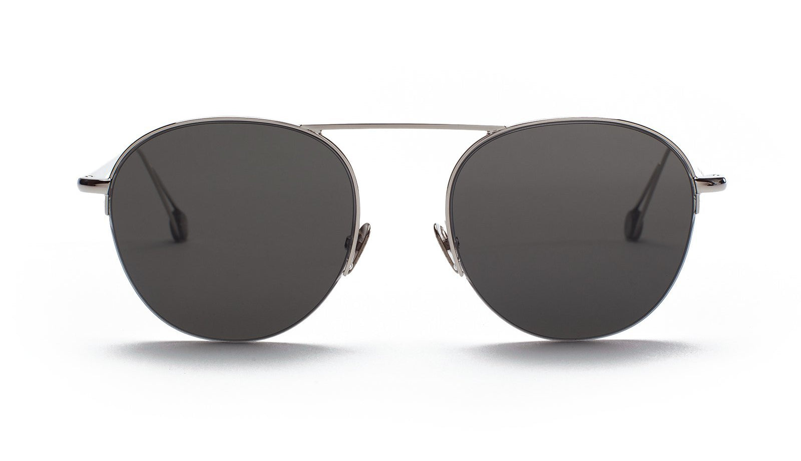 Ahlem Place Wagram Sunglasses White Gold