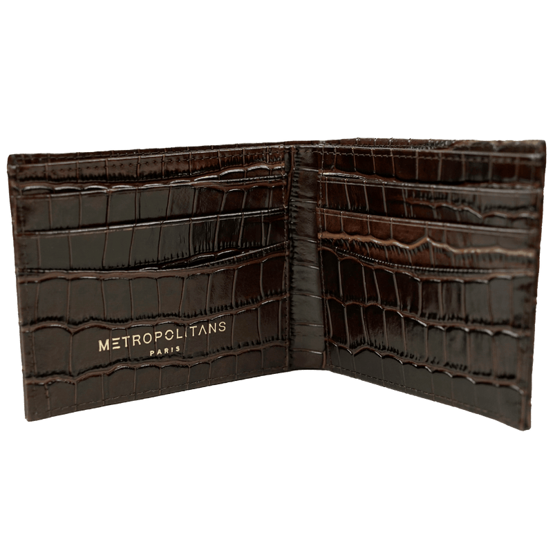 Tenerife Brown Wallet - Metropolitans Paris
