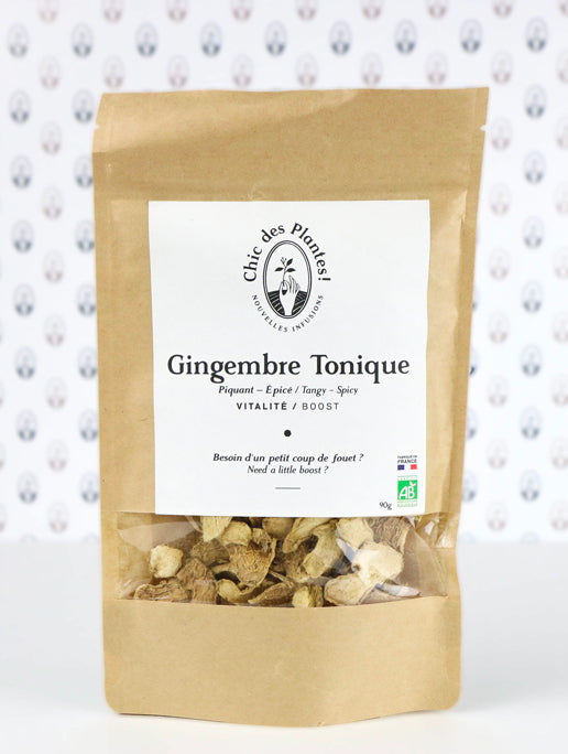 Infusion Chic des plantes - Gingembre tonique